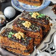 Świąteczne ciasto marchewkowe z powidłami