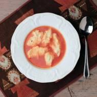 zupa rybna z kluseczkami francuskimi