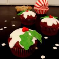 Świąteczne cupcake  piernikowe z dodatkiem likieru Bailey's