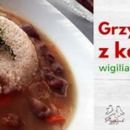 Wigilia o niskim IG z Przepysznikiem i Naturą Rzeczy: Zupa grzybowa z kaszą