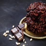 Zniewalający deser, a tylko 2 skladniki: czekolada i słonecznik