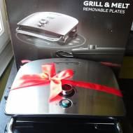 Grill i Opiekacz w jednym, czyli Grill & Melt Russell Hobbs