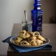Rogaliki z makiem z ciasta ziemniaczanego
