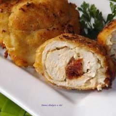 pierś kurczaka nadziewana mozzarellą