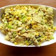 Sałatka z Kuskusem i Indykiem w sosie Curry