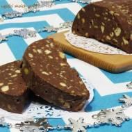 Blok czekoladowy z solonymi orzeszkami ziemnymi