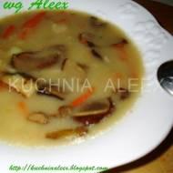 Zimowa zupa grzybowa wg Aleex