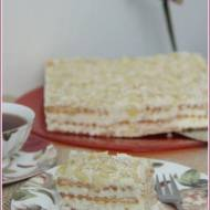 Ciasto rafaello bez pieczenia i bez jajek