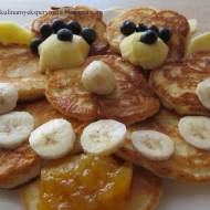 Placuszki jabłkowo- bananowe
