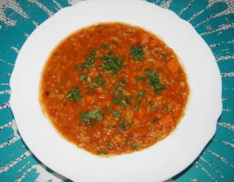 Przepis Na Zupa Pomidorowa Z Soczewicą I Ryżem Jaśminowym Zadanie