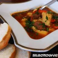 Zupa gulaszowa z dziczyzny
