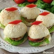 Drobiowe mini hamburgery