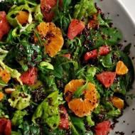 Cytrusowa fit sałatka z quinoą