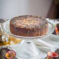 Cytrynowe ciasto z marakują