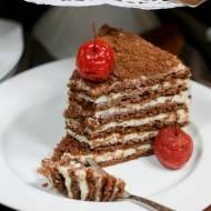 TORT SPARTAK (czekoladowo-serowy)