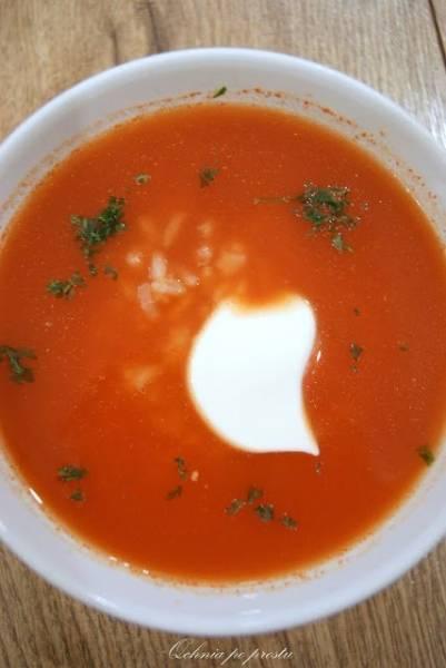 Przepis Na Pomidorówka Zupa Pomidorowa Z Ryżem Qchnia Po Prostu