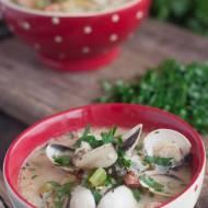 Chowder czyli zupa rybna z małżami