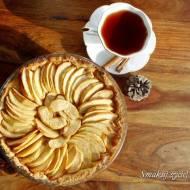 Francuska tarta z jabłkami