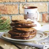 Pszenno-owsiane pancakes z kakao