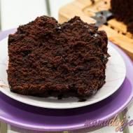 Ciasto czekoladowo-buraczane
