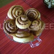 Bułeczki ślimaczki z cynamonem wg Marleny