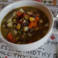 Wegańska zupa farmerska