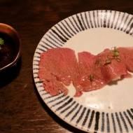 Wołowina z Kobe w postaci sashimi
