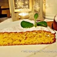 Bezglutenowe, kukurydziane ciasto cytrynowe i do tego likier cytrynowy