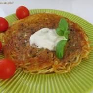 Omlet ze spaghetti