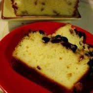 Ciasto z kaszy manny z żurawiną