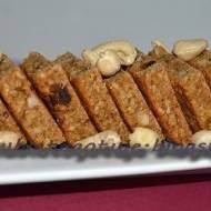Ciasteczka kukurydziane z otrębami i bakaliami