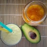 Koktajl avocado +banan + mirabelka