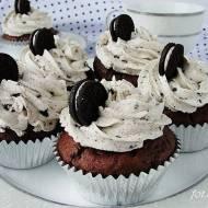 Muffinki czekoladowe z oreo