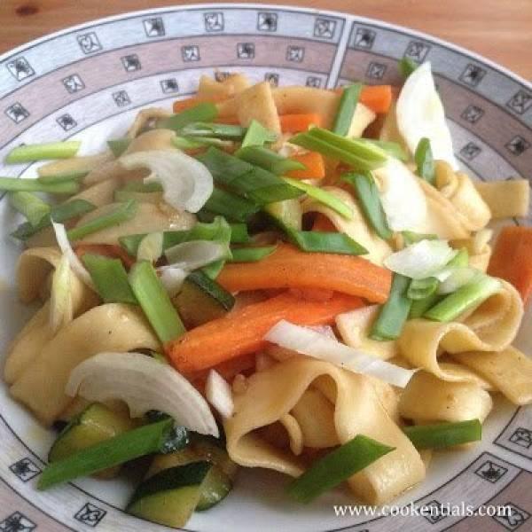 Przepis Na Przepisy Kuchnia Chińska Makaron Z Cukinią