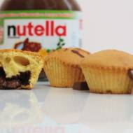 Muffinki z nutellą