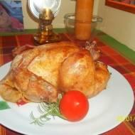 Kurczak peklowany, pieczony w rękawie