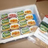 """Testowanie- jogurty """"Activia"""""""