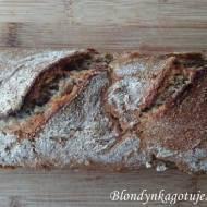 Bardzo Łatwy Chleb Żytni na Zakwasie - Nocny
