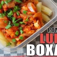 Pomysł na Lunch Boxa #7   Piekielny Kurczak z Makaronem   Fit Przepis #49