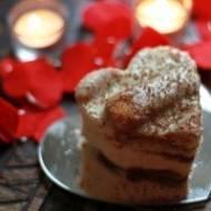 Wykwinty sernik z ajerkoniakiem i kawą, cudeńko :)