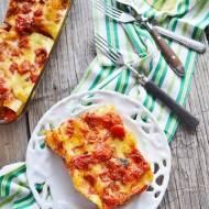 Cannelloni nadziewane białym serem i warzywami
