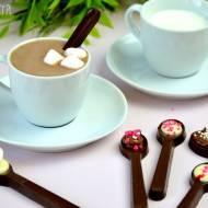 Łyżeczki z czekolady