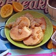 Placuszki bezglutenowe z macą i prażonym jabłkiem