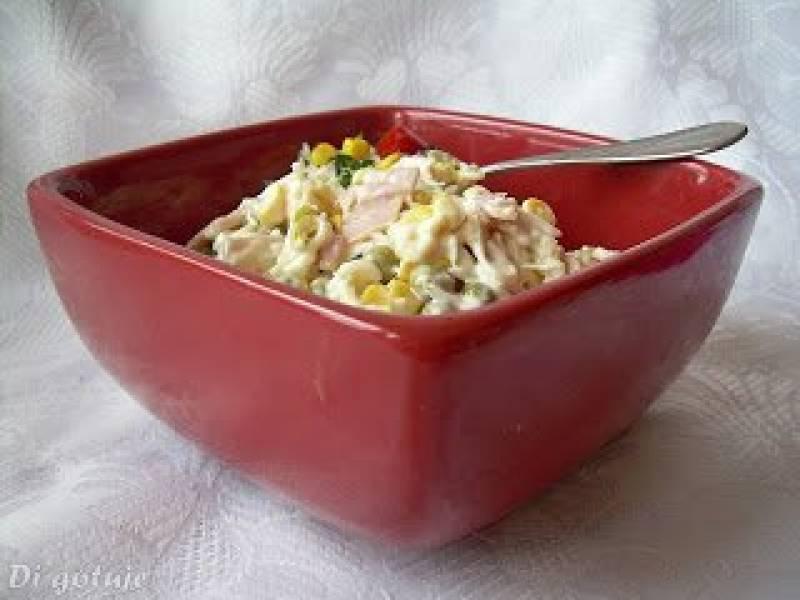 Przepis Na Salatka Z Selera Konserwowego Z Serem I Szynka Di