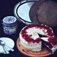 Red Velvet Cake, czyli ciasto w kolorze miłości na maślance