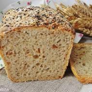 Chleb pszenno orkiszowy z cebulką