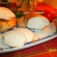 Filet z piersi kurczaka, pieczony w rękawie
