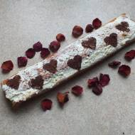 Rolada biszkoptowa z masą śmietanową z mascarpone
