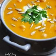 Zupa krem marchewkowo-cieciorkowa z nutą pomarańczy