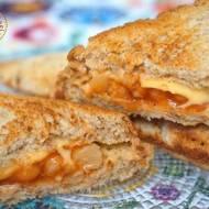 Szybkie tosty z pieczoną fasolką